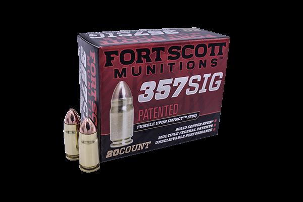 FORTSCOTT 357 SIG TUI - 95Gr Handgun Ammo