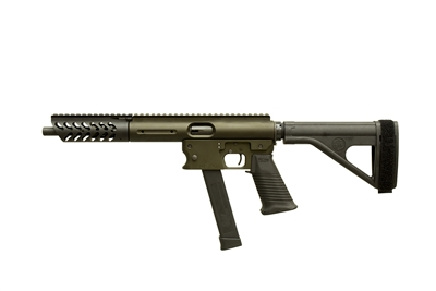 Aero Survival Pistol with Extended Handguard and SB Tactical Brace