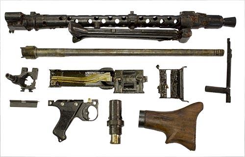 MG34 Original Complete Parts Kit (Not Including Receiver or Bolt)
